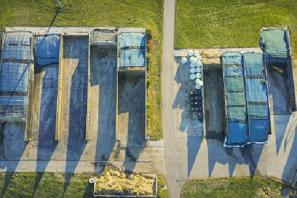 JOSILAC silo cover from above