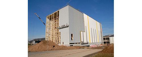 JOSERA High-bay warehouse