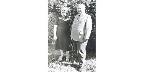 JOSERA founders: Joseph und Pauline Erbacher